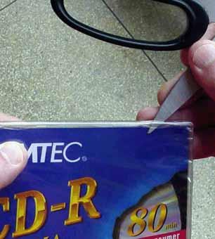 plastico cd
