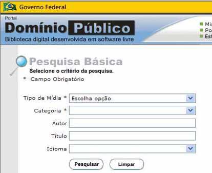 Obras gratuitas de domínio Público