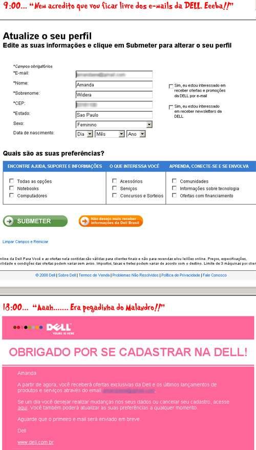 web site da Dell